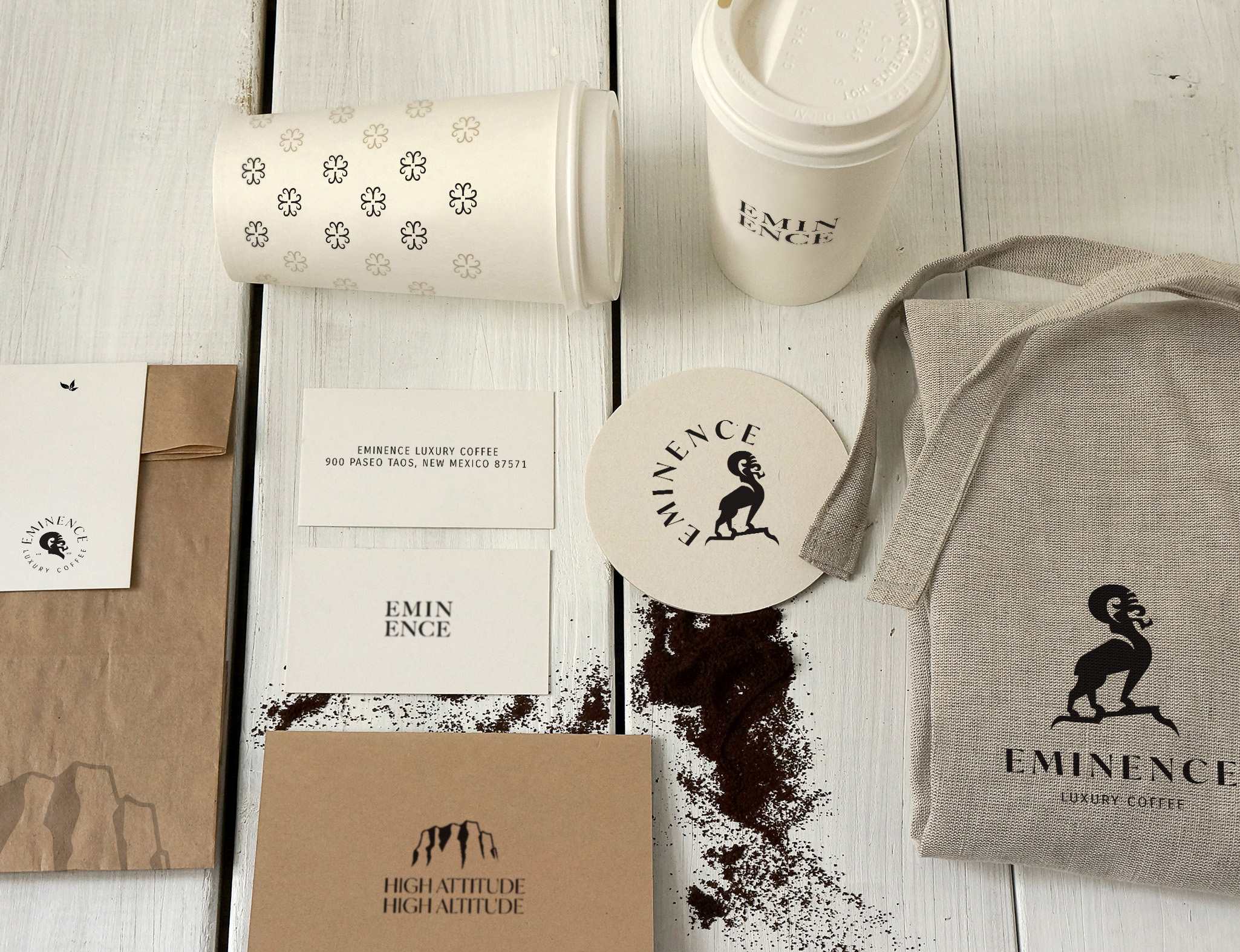 Eminence Coffee Mock Up
